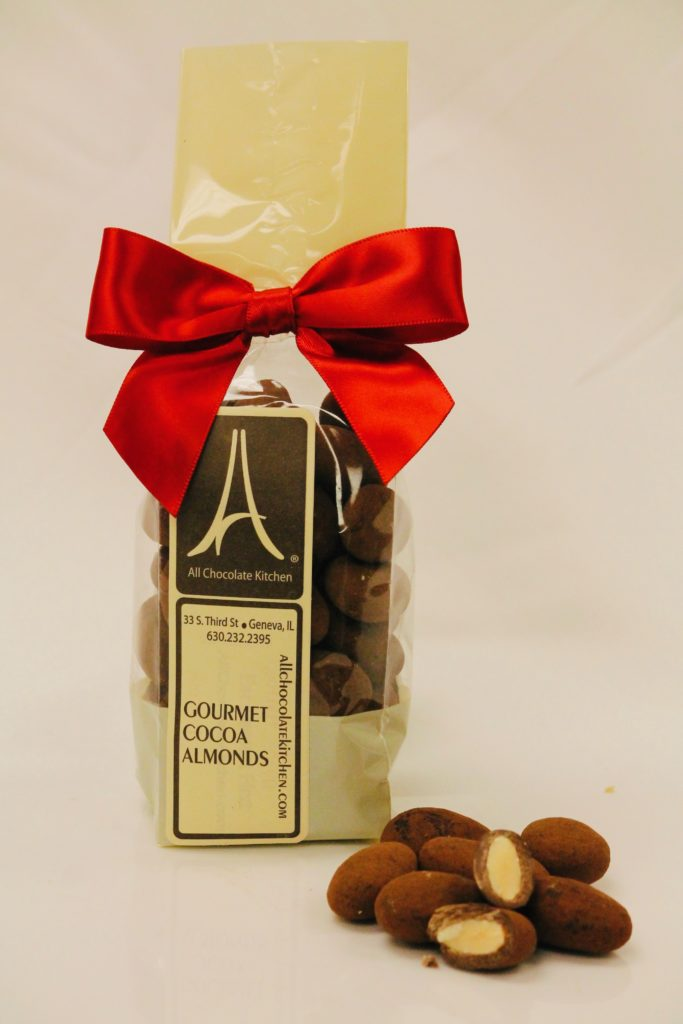 All Chocolate Kitchen's Cocoa Almonds