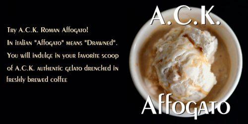 gelato-affogato